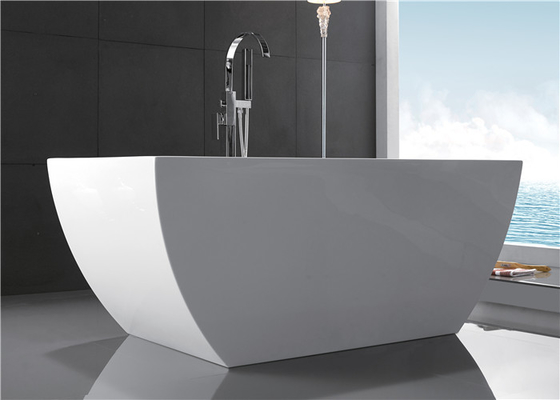 Large Volume Free Standing Garden Tub , Luxury Soaking Tubs 1700 * 800 * 600mm