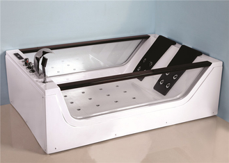 Electronic Control Large Jacuzzi Bathtub , Jacuzzi Air Tub With 8 Hydrotherapy Jets