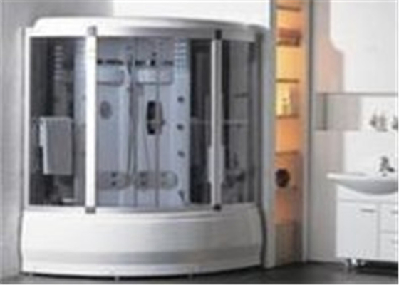 Comfortable Whirlpool Steam Shower Bath Cabin Unit With Computer Control Panel