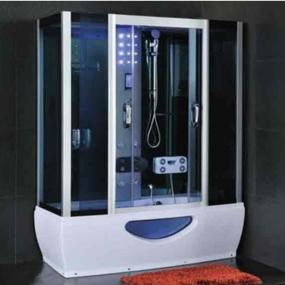 Modern Rectangular Shower Enclosure With Sliding Door Steam Room And Shower Combo