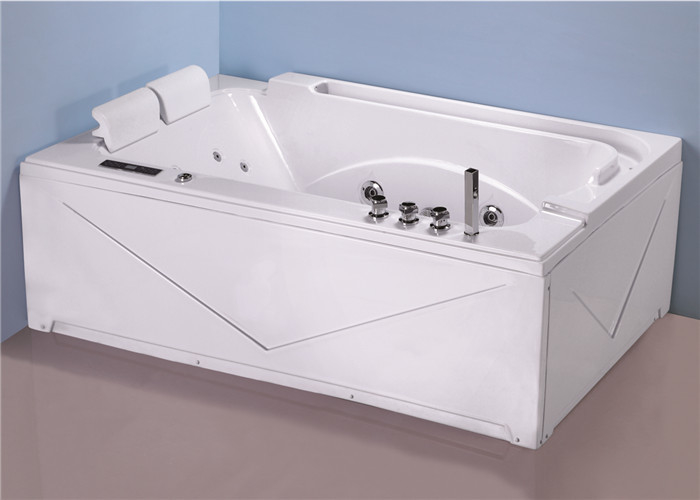 Modern Retangle 2 Person Mini Indoor Hot Tub For Home Computer Control