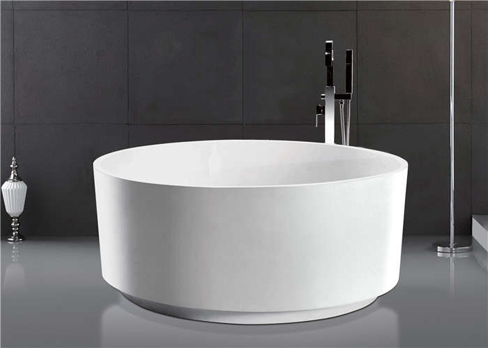 Soaking Round Freestanding Bathtub Deep Bathtubs For Small