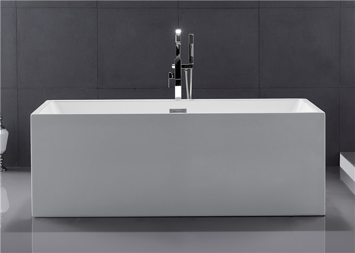 Small Stand Alone Bathtubs , Deep Freestanding Soaking ...