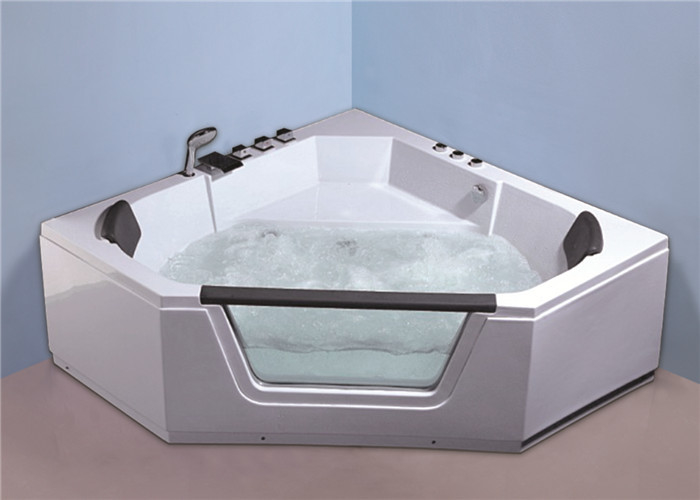 American Standard Freestanding Jetted Tub , High End Corner Jacuzzi Bathtubs
