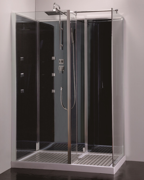 New whole sale walk in glass shower room bathroom shower cubicle shower cabin