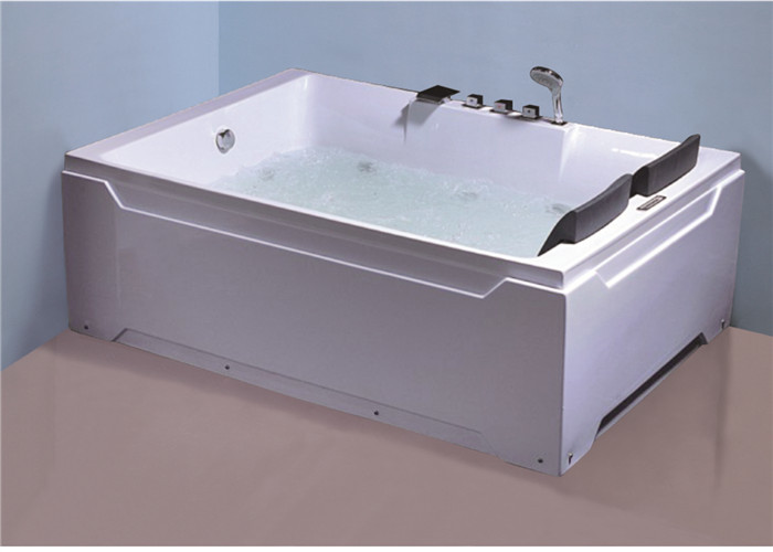 Square Freestanding Whirlpool Bathtubs , Whirlpool Jet Tubs For ...