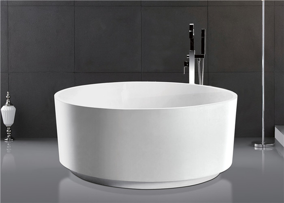 China Soaking Round Freestanding Bathtub Deep Bathtubs For Small Bathrooms Elegant distributor