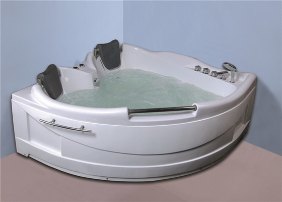 China Luxurious Corner Whirlpool Bathtub Jacuzzi Bathroom Tubs 50 / 60Hz Frequency factory