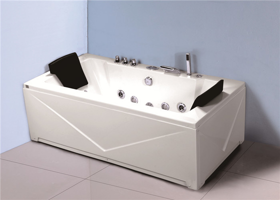 China American Standard Jacuzzi Whirlpool Bath Tub With Thermostatic Faucet Waterfall factory