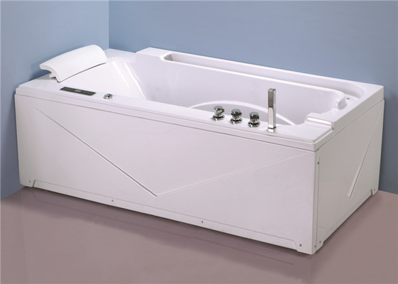 China 5 Big Water Jets Jacuzzi Whirlpool Bath Tub With 1.5HP Water Pump OEM Available factory