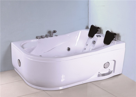China Unique Arc Shape Jacuzzi Whirlpool Bath Tub 2 Person CE UL ETL Approved factory