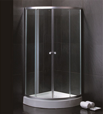 China 800 X 800 Quadrant Shower Enclosures And Tray With Magnetic Stripes Ss Sliding Handle distributor