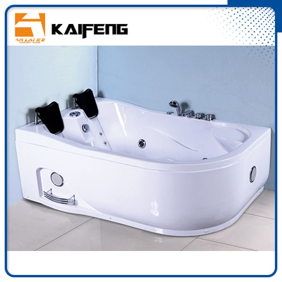 China Customized Color Bathroom Jacuzzi Tub Shower Combo Hydromassage Tub With Loud Speaker distributor