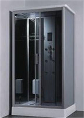 China Comfortable Glass Shower Cabin Complete Shower Cabins With Radio / Bluetooth distributor