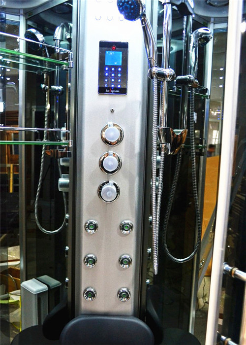 Large Corner Steam Shower Units , Hydrotherapy Shower Enclosures With Jets